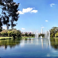 Photo taken at Parque Ibirapuera by Hubert A. on 7/14/2013
