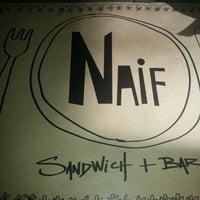 Photo taken at Naif Sandwich & Bar by Vito M. on 2/1/2013