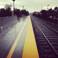 Photo taken at California Ave Caltrain Station by C J S. on 11/30/2012