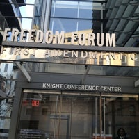 Photo taken at Newseum - Knight Conference Center by Katherine on 2/4/2013