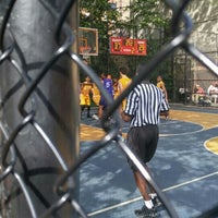 Photo taken at West 4th Street Courts (The Cage) by Leatrice J. on 6/15/2016