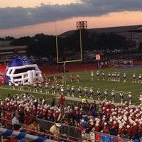 Photo taken at Bob Shelton Stadium by Marielle K. on 10/5/2013