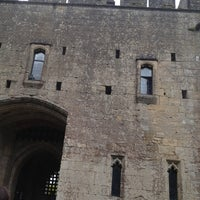 Photo taken at Caldicot Castle by Rachael on 7/3/2013