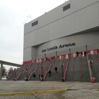 Photo taken at Joe Louis Arena by Brian K. on 12/30/2012