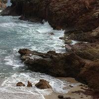 Photo taken at Pointe des Salines by leonidas t. on 2/8/2013