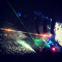 Photo taken at Rod Laver Arena by Jesse K. on 4/27/2013