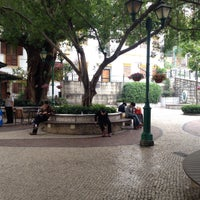 Photo taken at Largo do Lilau / Lilau Square 亞婆井前地 by C on 2/21/2015