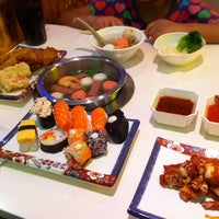 Photo taken at Shabu-Shi @ Hougang Mall by Halima N. on 6/11/2012