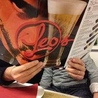 Photo taken at Leos Pizzeria by Barbara on 1/18/2013