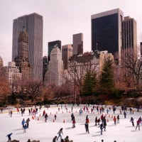 Photo taken at Wollman Rink by Vera O. on 3/25/2013