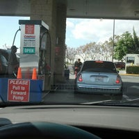 Photo taken at Costco Gas by Clara K. on 2/9/2013