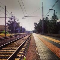 Photo taken at Stazione di Pompei by Cristiano E. on 8/26/2013