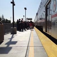 Photo taken at California Ave Caltrain Station by Denzil V. on 4/24/2013