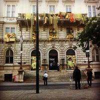 Photo taken at Börseplatz by Johannes S. on 7/28/2013