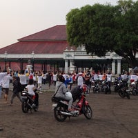 Photo taken at Alun - Alun Lor by Candra on 11/3/2012