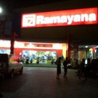 Photo taken at Ramayana Supermarket by Stayner F. on 8/7/2013