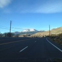 Photo taken at 395 South In Washoe Valley by Marcus C. on 11/20/2012