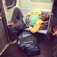 Photo taken at MTA Subway - L Train by Kimberly F. on 5/31/2013