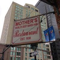 Photo taken at Mother's Restaurant by Jillian on 4/18/2013