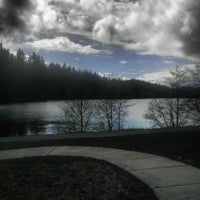 Photo taken at Lake Padden Park by Curtis A. on 4/13/2013