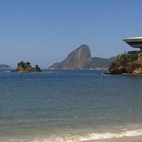 Photo taken at Praia das Flexas by Eugênio R. on 9/30/2012