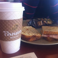 Photo taken at Panera Bread by Brian on 1/13/2013