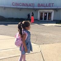 Photo taken at Cincinnati Ballet by Elena on 9/16/2015