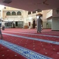 Photo taken at Masjid Saidina Umar Al-Khattab by Ikhwan R. on 7/17/2013