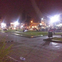Photo taken at Plaza 20 de Febrero (Plaza de Ituzaingó) by Alejandra A. on 8/18/2014