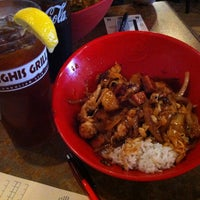 Photo taken at Genghis Grill by Mara on 5/20/2013