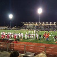 Photo taken at Sunset Stadium by Elaine S. on 10/12/2013