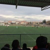 Photo taken at Abdurrahman Temel Futbol Sahası by Osman Z. on 11/28/2016