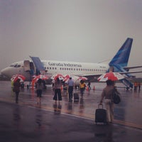 Photo taken at Bandara Abdulrachman Saleh (MLG) by Sham M. on 2/17/2013