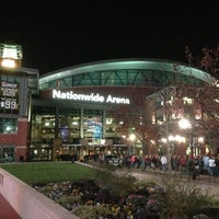 Photo taken at Nationwide Arena by Jamison S. on 11/8/2012