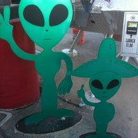 Photo taken at Alien Fresh Jerky by Mitch B. on 10/1/2012