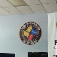 Photo taken at Comisión de Tránsito del Ecuador (C.T.E.) - Oficina de Brevetación by Jessica B. on 1/8/2013