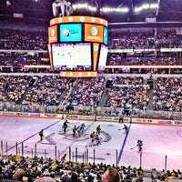 Photo taken at Bridgestone Arena by Jeremy H. on 3/29/2013