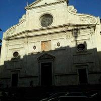 Photo taken at Basilica di Sant'Agostino in Campo Marzio by Elle T. on 11/26/2012