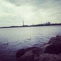 Photo taken at Ashbridge's Bay Park by Marcus K. on 6/5/2013