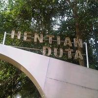 Photo taken at Hentian Duta Bus Terminal by Amirrah Z. on 9/27/2012