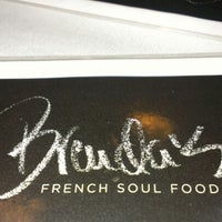 Photo taken at Brenda's French Soul Food by Amanda L. on 10/31/2012