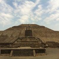 Photo taken at Zona Arqueológica de Teotihuacán by ro q. on 4/16/2013