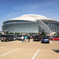 Photo taken at AT&T Stadium by Lavoska B. on 7/24/2013