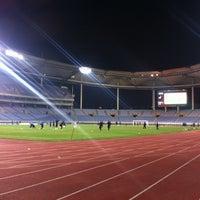 Photo taken at Incheon Munhak Stadium by Yechan L. on 11/7/2012