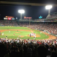 Photo taken at Fenway Park by Caroline G. on 7/22/2013