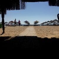 Photo taken at Sanz Beach by Bertan K. on 9/18/2016