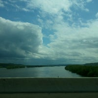 Photo taken at Tennessee River Bridge by Valerie G. on 5/10/2013