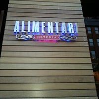 Photo taken at Alimentari Osteria by Laura C. on 9/20/2012