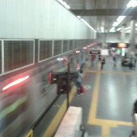 Photo taken at MetrôRio - Estação Central by Sebastian N. on 4/4/2013