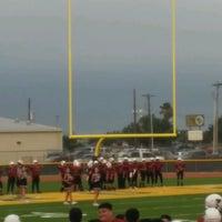 Photo taken at Nikki Rowe High School by Veronika L. on 9/28/2016